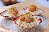 Tasmanian Scallops, citrus rissotto finished with mascarpone Parmesan & fresh segments
